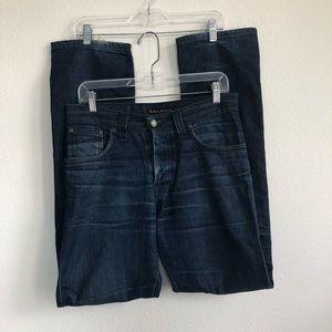 Nudie Jeans average Joe organic dry Italy jeans 30